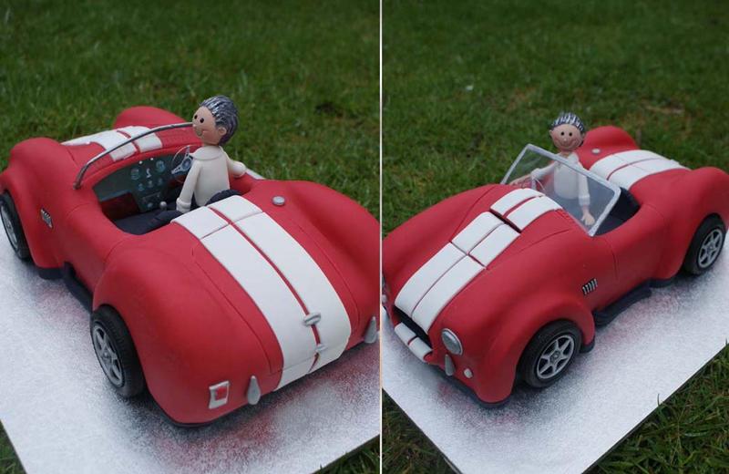 3D Cobra Car Cake by Verusca on DeviantArt