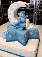 Teddy Christening Cake by Verusca