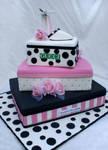 Box of shoe Cake