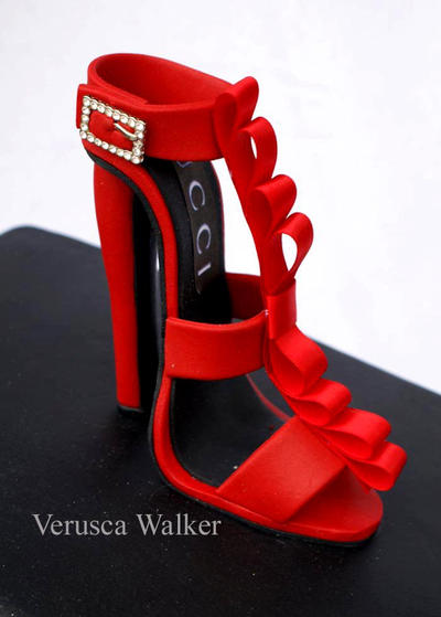 Gucci Shoe Figurine by Verusca
