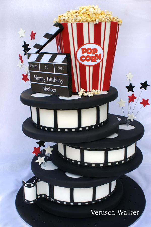 Cinema Cake by Verusca