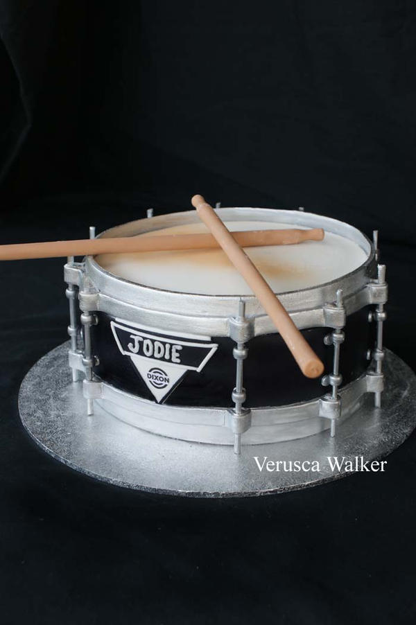 Snare Drum Birthday Cake