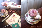 Rose cupcakes step-by-step