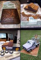 Hunter cake step-by-step by Verusca