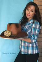 Cowboy Hat Cake by Verusca