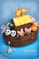 Noah Ark Cake by Verusca