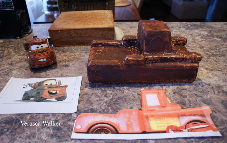 Tow Mater Birthday Cake Ideas