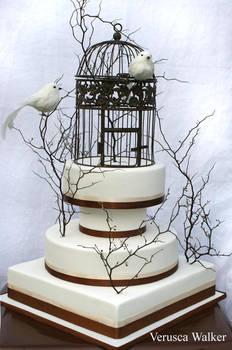 Bird Wedding Couple