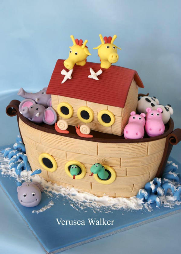 Noah Ark 3D Cake by Verusca