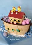 Noah Ark 3D Cake
