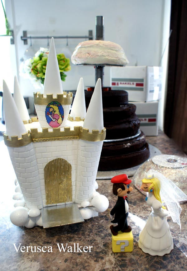 super one wedding cakes mario wedding cake part1 by verusca on deviantart 20632