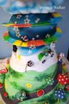 Super Mario Wedding Cake II