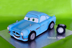 Aston Martin 3D Cake by Verusca