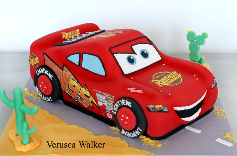 Racing Car Cake By Verusca On Deviantart