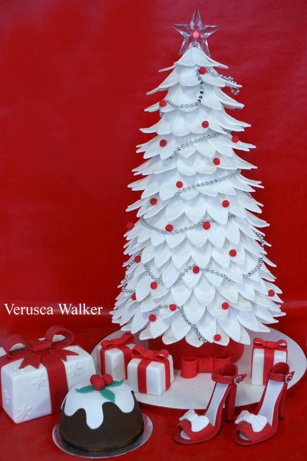 Xmas tree Cake by Verusca