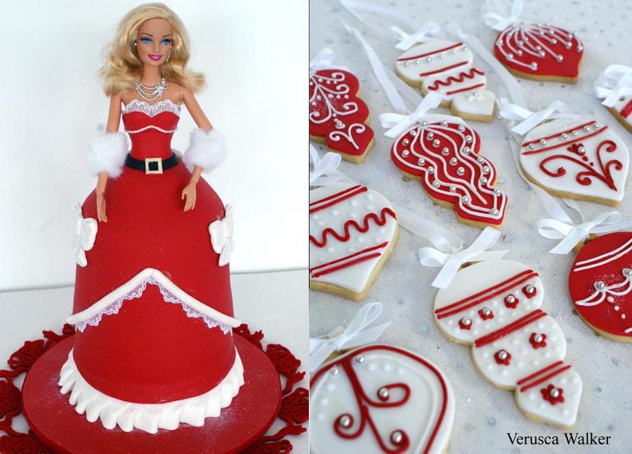 Xmas Doll Cake by Verusca