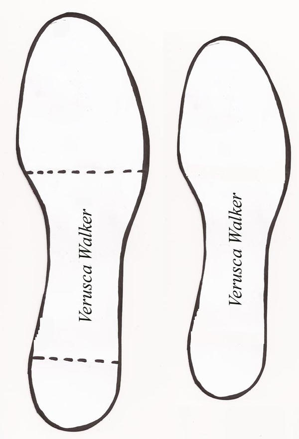 Shoe template by verusca on deviantart