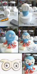 Hoot Figurine by Verusca