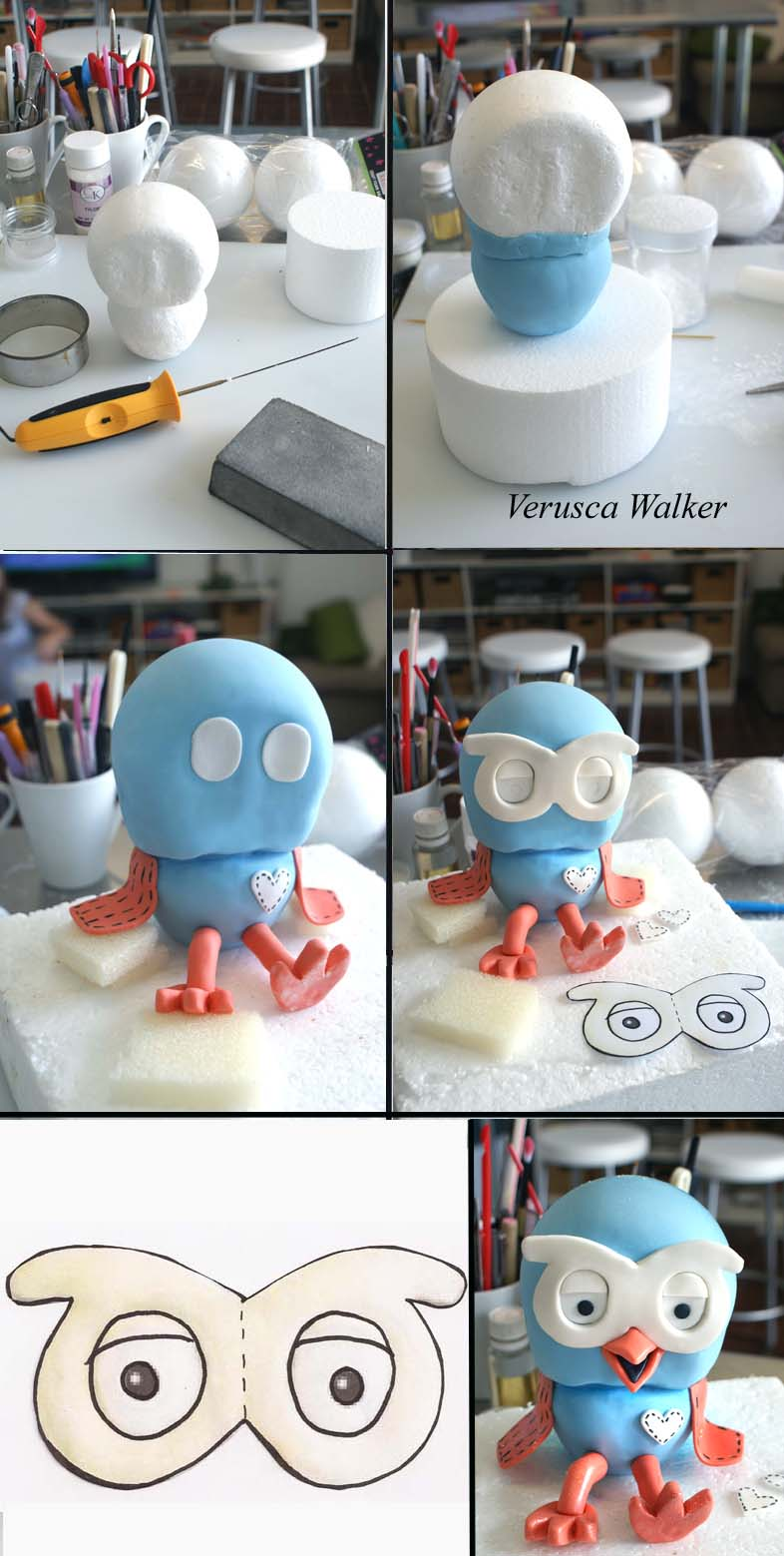Hoot Figurine by Verusca