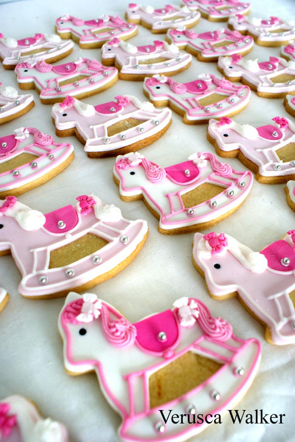 Rocking Horse Cookies by Verusca