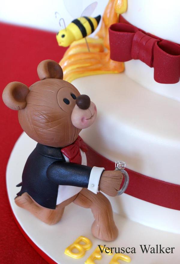 Teddy Bear Figurine by Verusca