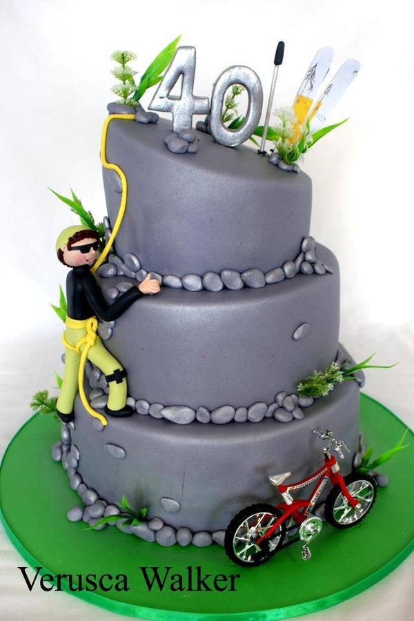 Climbing Cake by Verusca