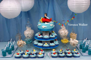 airplane party theme by Verusca