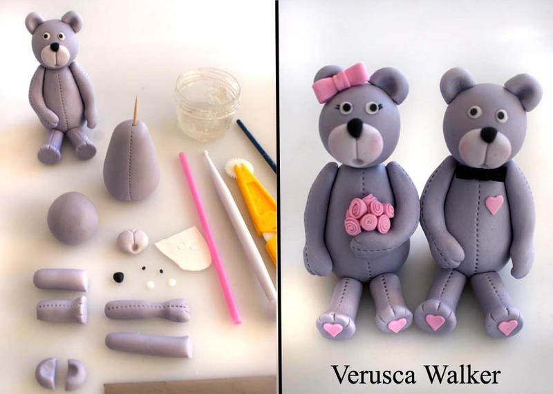 Teddy figurine by Verusca