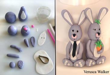 Rabbit figuirne by Verusca