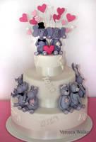 Animal wedding cake by Verusca