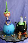 Mathilda the Witch cake