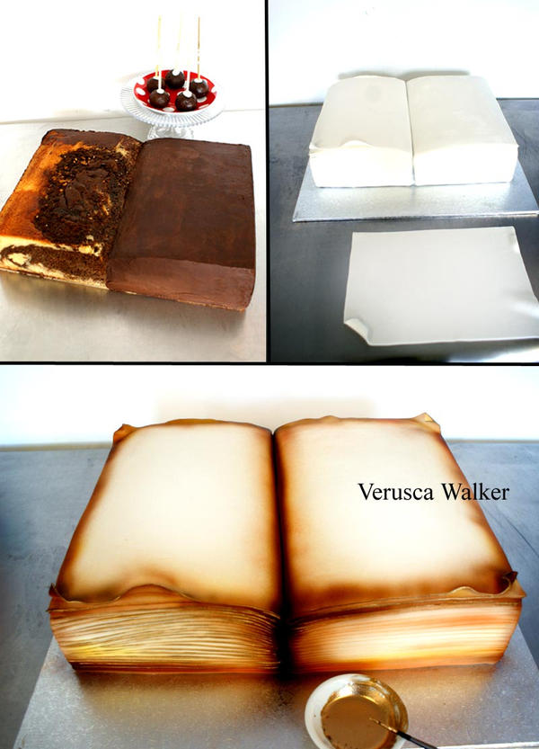 Book Cake by Verusca