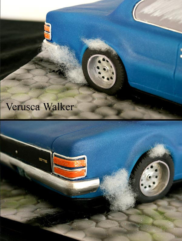Car Cake Images Download : 3D Car Cake burning out by Verusca on DeviantArt