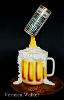 Beer Jar 3D Cake by Verusca