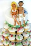 Wedding Summer Cupcakes