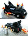 Dark Knight  3D Cake
