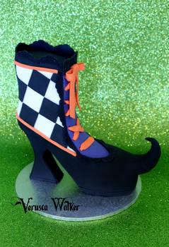 Mini Cake Witch shoe