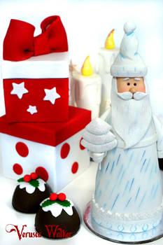 Mini Cake Santa Claus