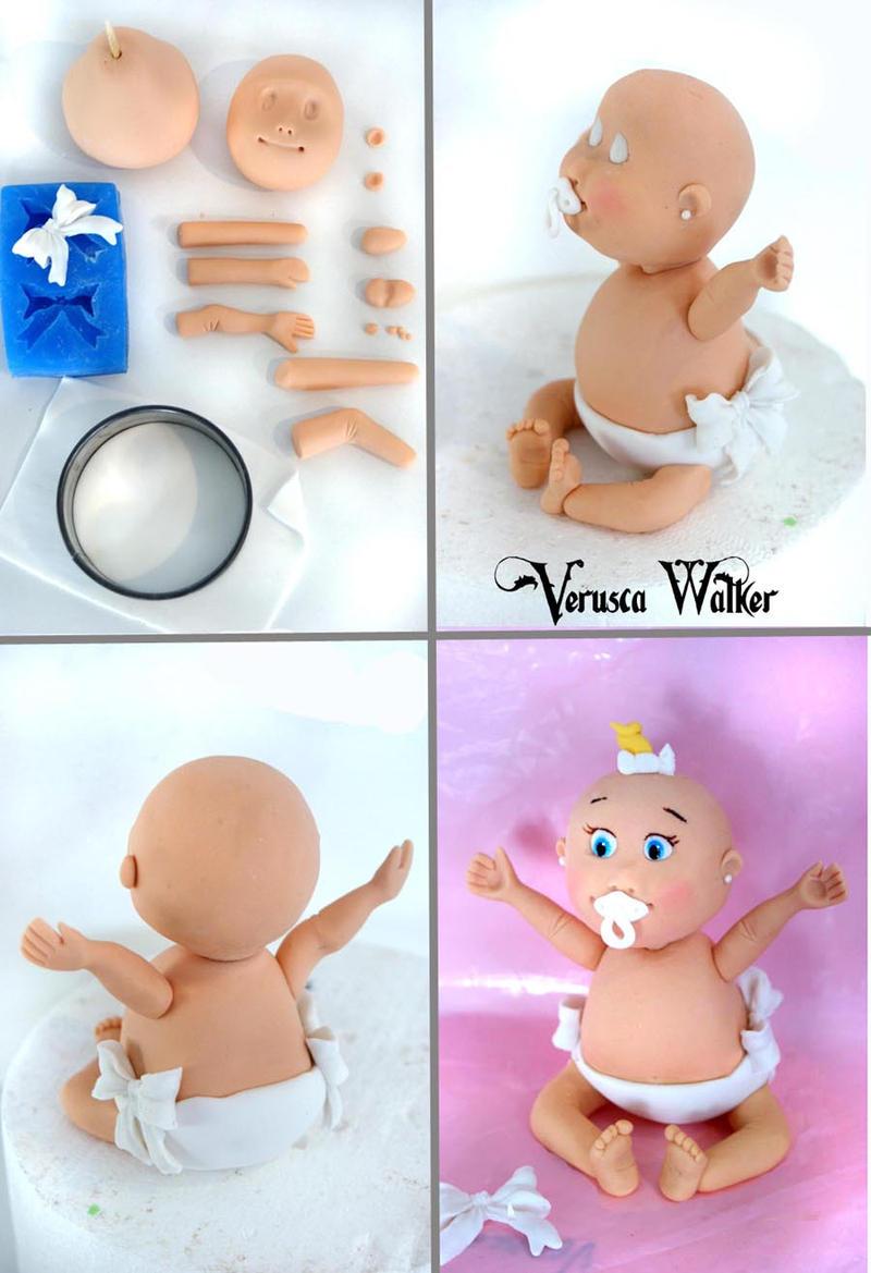 Baby figurine by Verusca