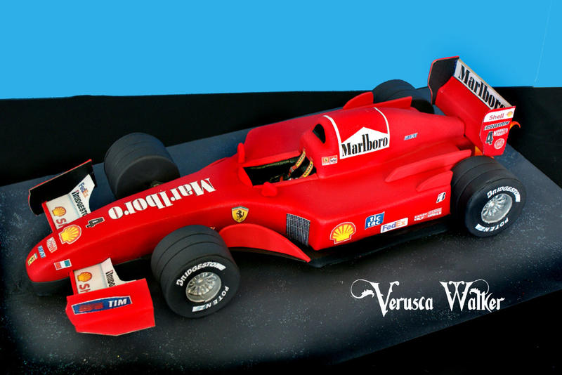 f1 car cake template - f1 ferrari by verusca on deviantart