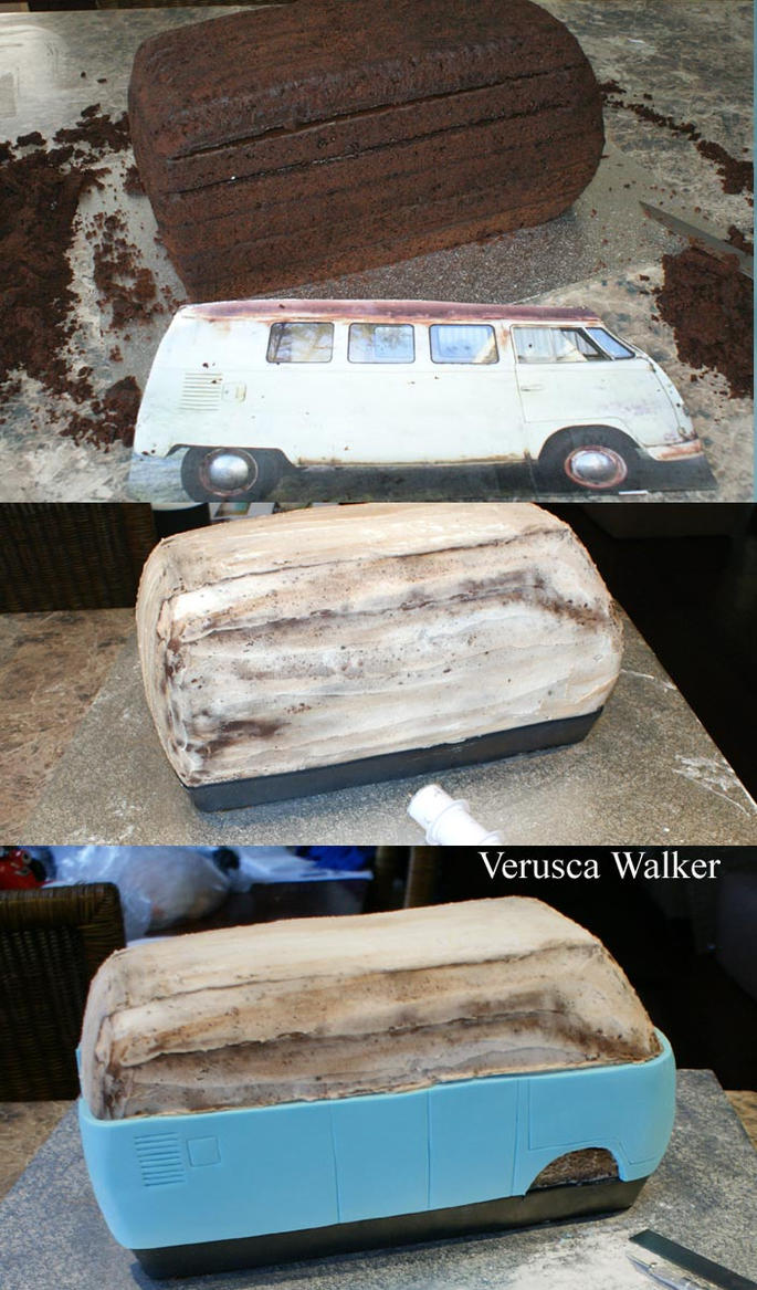 How To Make A Campervan Cake Step By Step