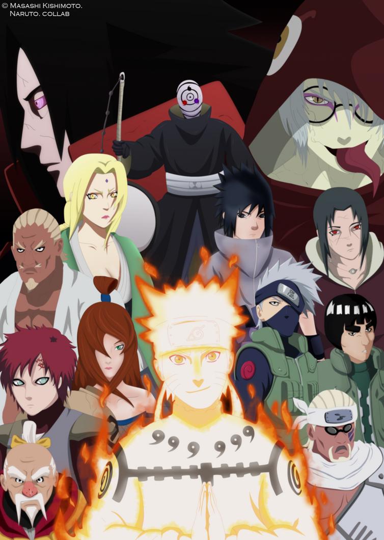 Collab Naruto. by RicardoNamikaze