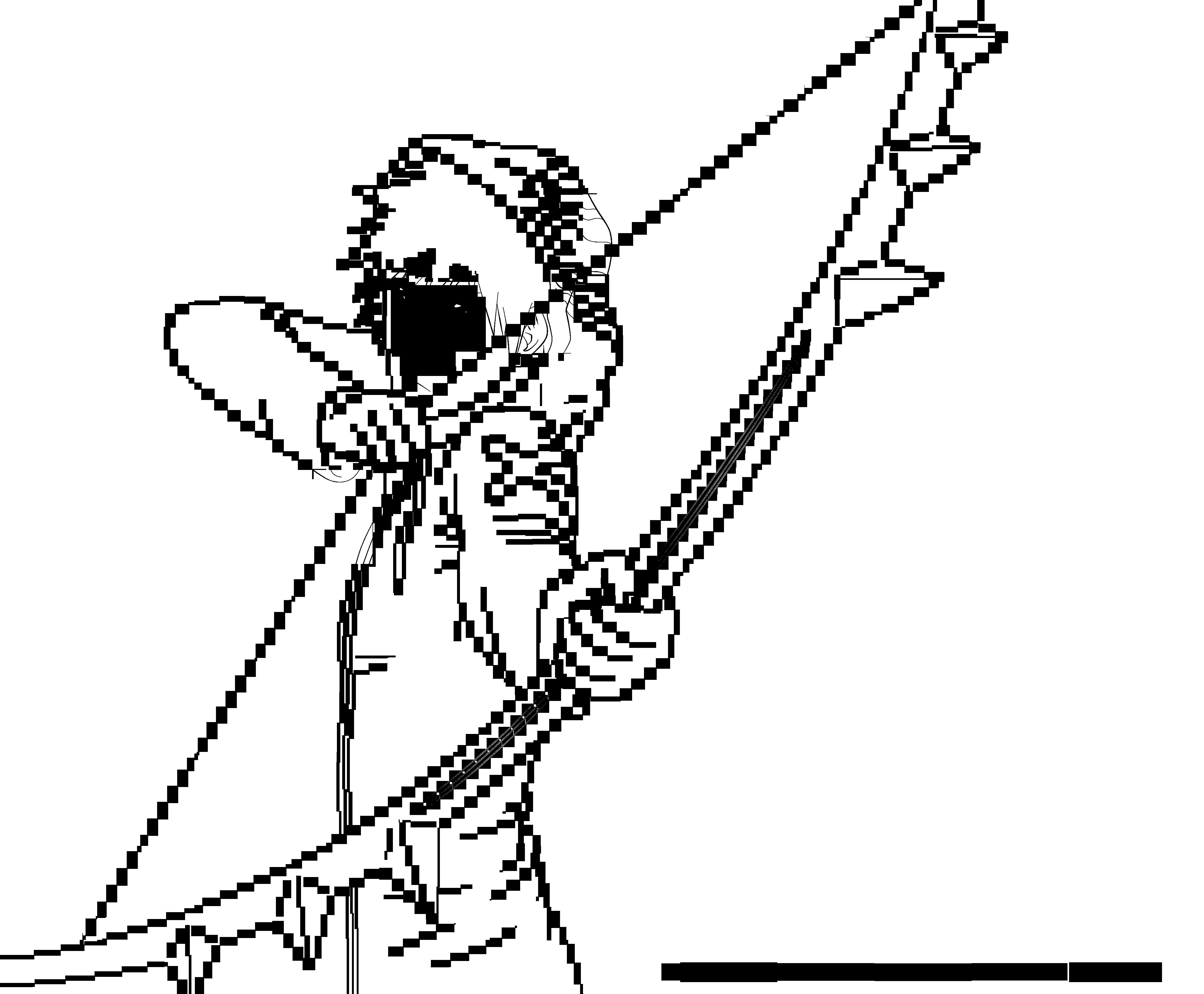 Ichigo FanArt (Lineart). by RicardoNamikaze