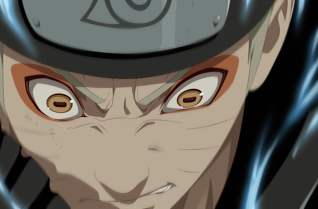 Naruto anime style. by RicardoNamikaze