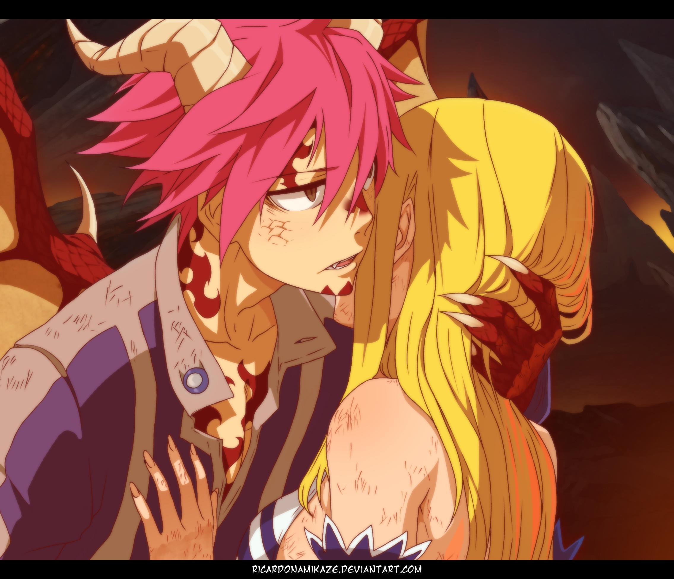 I'm Sorry, Lucy (Anime Style). by RicardoNamikaze