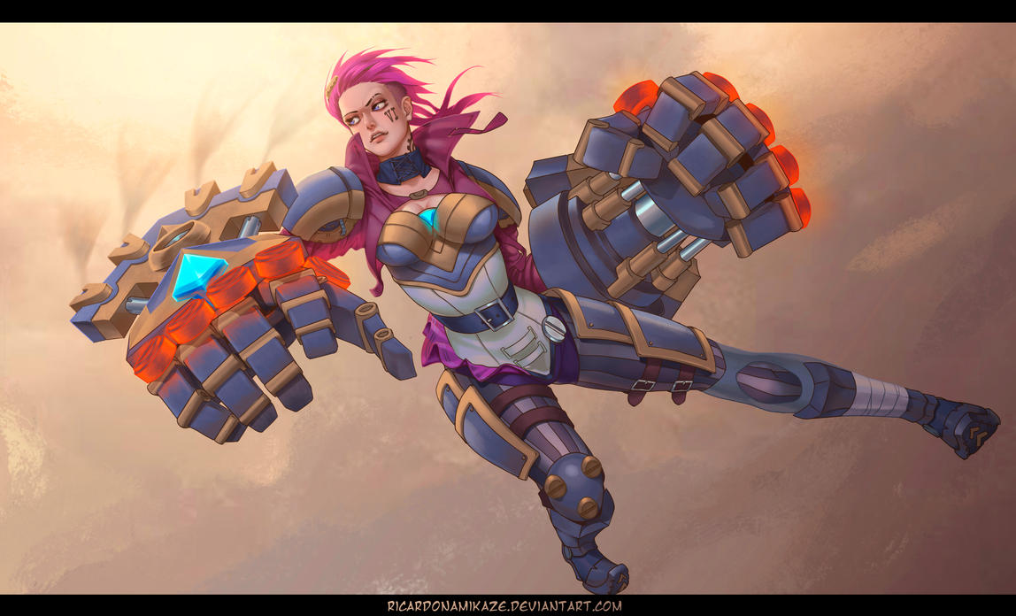 League of Legends Vi (semi-soft). by llSwaggerll