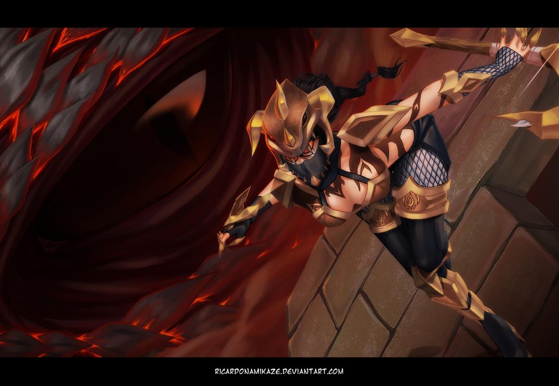 DragonSlayer Vayne by llSwaggerll