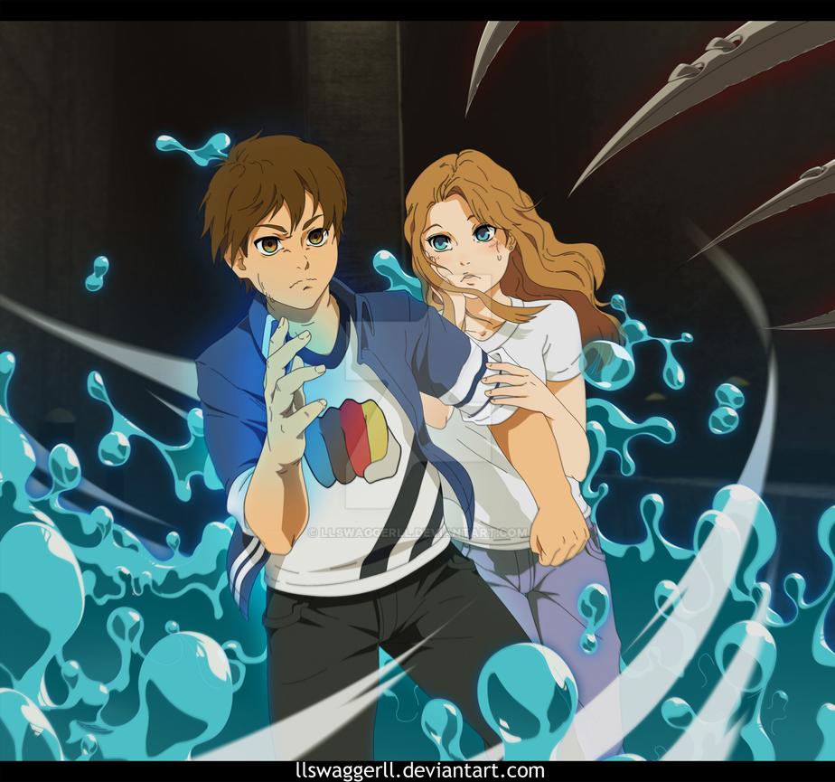 Mito and Kazuya by llSwaggerll