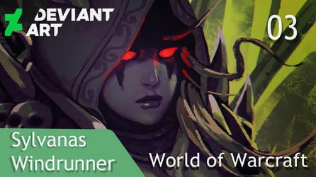 World Of Warcraft: Sylvanas (SpeedPaint). by llSwaggerll