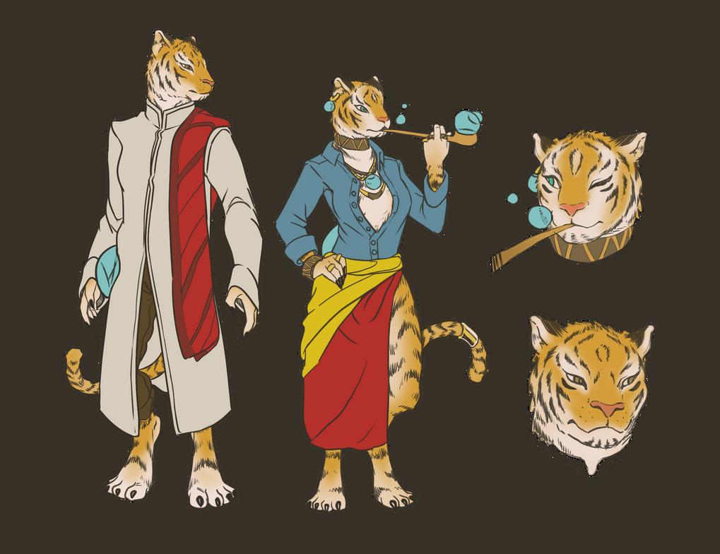 Tiger-Folk by llSwaggerll